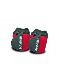 Greutati maini/picioare 2 x 0.5 kg - HAMMER