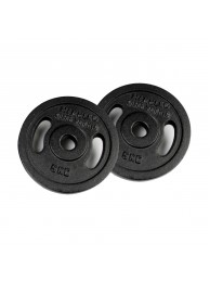 Iron weight disc 2 x 5 kg by HAMMER