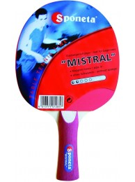 Ping-pong table tennis bat MISTRAL by SPONETA