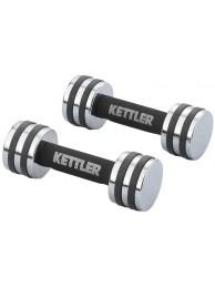 Set gantere crom  KETTLER -2 kg